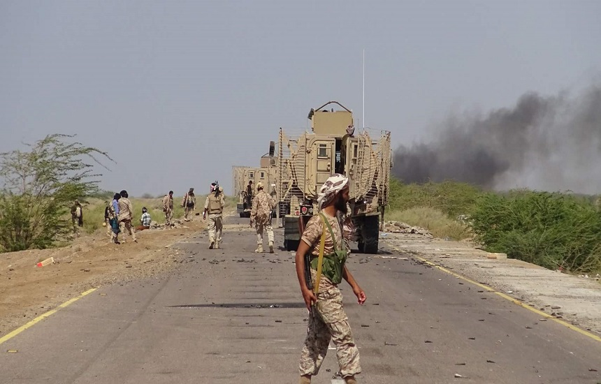 مصرع عدد من قيادات ميليشيات الغزو الحوثية في حيس بمحافظة الحديدة -أسماء
